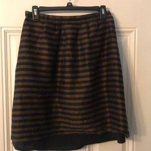 Madewell Striped Skirt Size 4